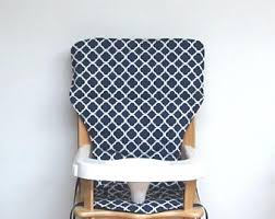 high chair pad replacements hand made in the by sewingsillysister