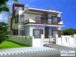 100 Modern House India 3D Front Elevation For Service In Delhi Ncr3D 2D