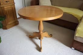 tisch rund holz vom tischler gedrechselt
