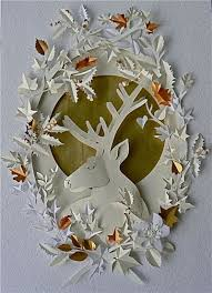 Paper Cut Work By Helen Musselwhite Make This With A Drawing Of Us Zooey
