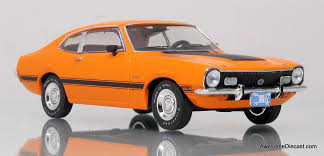 Premium X 1:43 1973 Ford Maverick GT / Orange - Awesome Diecast