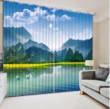 Tommy Hilfiger Curtains Cabana Stripe by Blue And White Curtains Blue Ticking Stripe Shower Curtain Blue