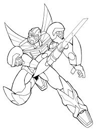 Coloriage Transformers Prime