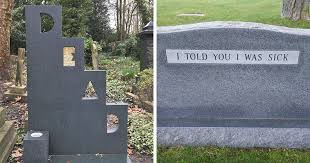 Funny Halloween Tombstones Epitaphs by Life Themindcircle