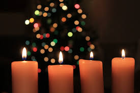 photo gratuite noël bougies nuit lumière image gratuite sur