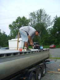 100 Terpening Trucking NY State Bass Fed Catch Release Boat