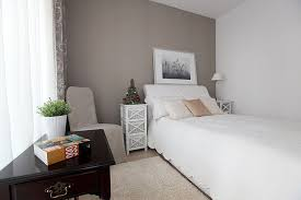 Apartment In Natural Colours Contemporary Bedroom
