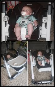 j ai testé la chaise siesta de peg perego