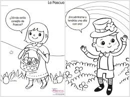 Exclusive Idea Coloring Pages In Spanish Spring Printable Spanglishbaby