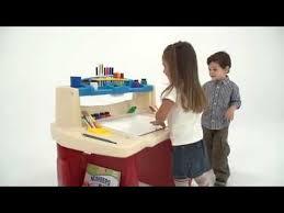 Step2 Art Easel Desk Instructions by Step2 Deluxe Art Master Desk Youtube
