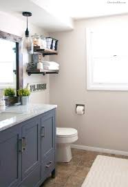 Primitive Bathroom Vanity Ideas by Bathroom Comely Farmhouse Master Bathroom Reveal Little Vintage