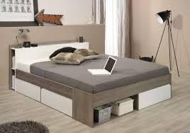 bett stauraumbett einzelliege 140x200 cm schlafzimmer silbereiche weiss neu
