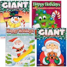 Bulk Christmas Jumbo Coloring Activity Book 160 Pages At DollarTree