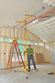 Hanging Drywall On Ceiling Or Walls First by How To Hang Drywall