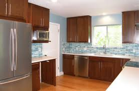 Modern Cherry Cabinets Contemporary Kitchen Austin by UB