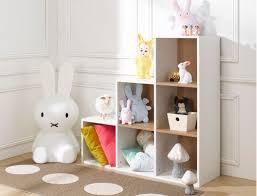 bibliothèque chambre bébé bibliothèque cube de rangement pour chambre enfant blanc
