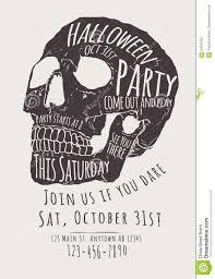 Free Cute Halloween Flyer Templates by Halloween Invitation Flyers U2013 Fun For Halloween