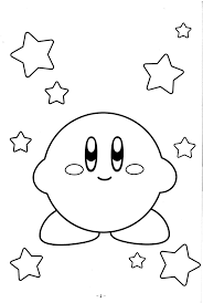 Kirby Coloring Pages For Kids Free Online Printable Sheets Get The Latest Images