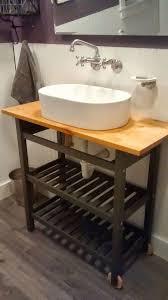 15 genius ikea hacks for bathroom ikea kitchen cart kitchen