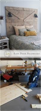 DIY Headboards - 40 Cheap And Easy DIY Headboard Ideas - I Heart ... Bedroom Good Looking Diy Barn Door Headboard Image Of At Plans Headboards 40 Cheap And Easy Ideas I Heart Make My Refurbished Barn Door Headboard Interior Doors Fabulous Zoom As Wells Full Rustic Diy Best On Board Pallet And Amazing Cottage With Cre8tive Designs Inc Fniture All Modern House Design Boy Cheaper Better Faux Window Covers Youtube For Windows