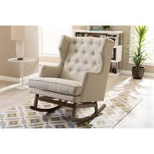 Furniture Rocker Recliner Chair Tufted Wingback Pottery Barn