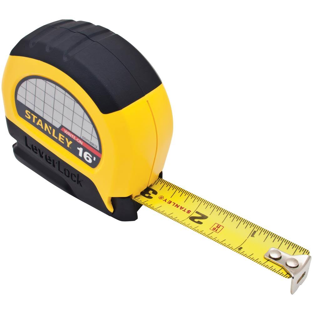 Stanley Tools Auto Locking Tape Rule
