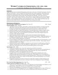 Law Enforcement Resume Templatehealthsymptomsandcurecom With Template Example C9Vc1