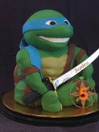 Ninja Turtle Decorations Nz by Leonardo Teenage Mutant Ninja Turtle Cake Cakes And Cupcakes