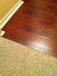 Laminate Floor Transitions Doorway by Transition Pieces For Wood Flooring To Carpet Flooring Designs