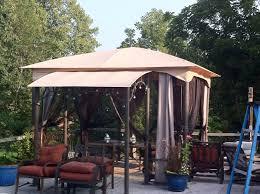 patio gazebo walmart home outdoor decoration