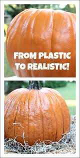 Carvable Foam Pumpkins Walmart by Making Your Plastic Pumpkins Look Real Plastic Pumpkins Paper