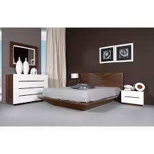 mobilier de chambre chambre à coucher design pour adulte en merisier ou chêne
