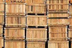 Crate Crates Box Wood Planks Cargo