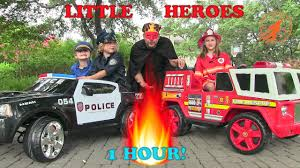 Little Heroes Compilation Video -1 Hour With The Spark, The Stealer ... Monster Truck Toy And Others In This Videos For Toddlers 21 Fire Engines Responding Best Of 2014 Youtube Vs Crazy Dinosaur Future Rescue Power Wheels Race Policeman Sidewalk Cop Vs Fireman Tow Children Tows A Car After Big Song Little Red Cartoon Videos For Kids Animal Video Youtube Shark Stunts S Lego City 60061 Airport Fire Truck Review Ultimate On Compilation 1 Hour Trucks The Hour Compilation Incl Ambulance