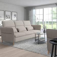 fammarp 3er sofa holz viarp beige braun ikea deutschland