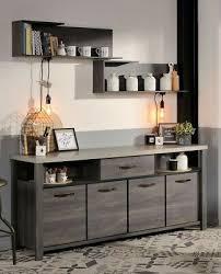 esszimmer maxim 1 eiche grau 7 teilig tisch bank sideboard