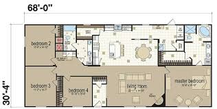 Triple Wide Modular Homes Floor Plans by 14 Triple Wide Manufactured Home Double Mobile 4 Bedroom House