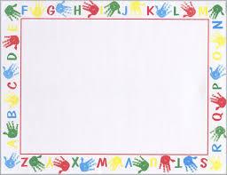 Collection Of Preschool Printables Borders