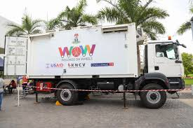 100 Trucks Wheels USAIDFunded Wellness On Provides Mobile One Stop