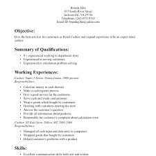 Resume For Leasing Manager Examples Retail Jobs
