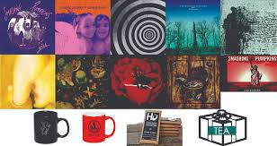 The Smashing Pumpkins Oceania Panopticon by Special Holiday Pumpkins Vinyl Packages Now Available At Madame