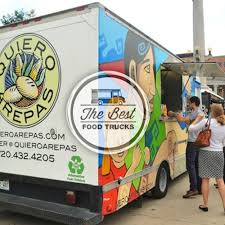 The 8 Most Flippin' Fantastic Food Trucks In Denver | Quiero Arepas ... Street Frites Mobile Eatery Denver Food Trucks Roaming Hunger Used For Sale Best Image Truck Kusaboshicom Taco Co Row Creating Culinary Excitement Whever We Go J Colorado Usa June 9 2016 Stock Photo Edit Now Usajune At The Civic Center Eats Editorial Otography Of Mountain 551332 11 2015 Gathering Of Gourmet Craigslist Satisfying Repiccis Italian Ice Gelato Free The Food Trucks Manna From Heaven