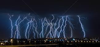 Lightning Barrage By Craig Powell