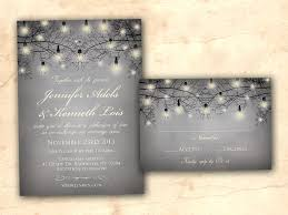 Rustic Classic Winter Wedding Invitation
