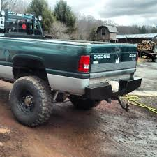 100 Dodge Ram Trucks Elite Rear Bumper Truck 9302 Affordable Offroad