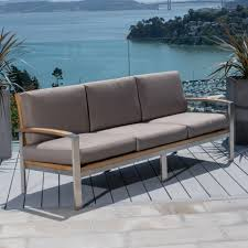 Outdoor Deep Seating Sectional Sofa by Milano Deep Seating Sofa Teak Outdoor Furniture Terra Patio