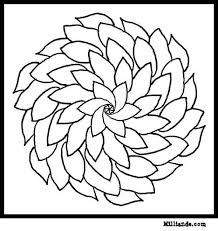 Flower Mandala Coloring Pages HOP OFF For To Color At Milliande Selection Of Printable Book Designs