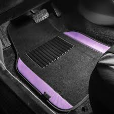 100 Truck Floor Mat BESTFH 4pc Universal Carpet S For Car SUV Purple W