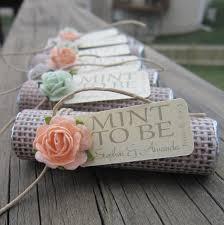 Bridal Shower Wedding Favor Mint To Be By BabyEssentialsByMel 3600