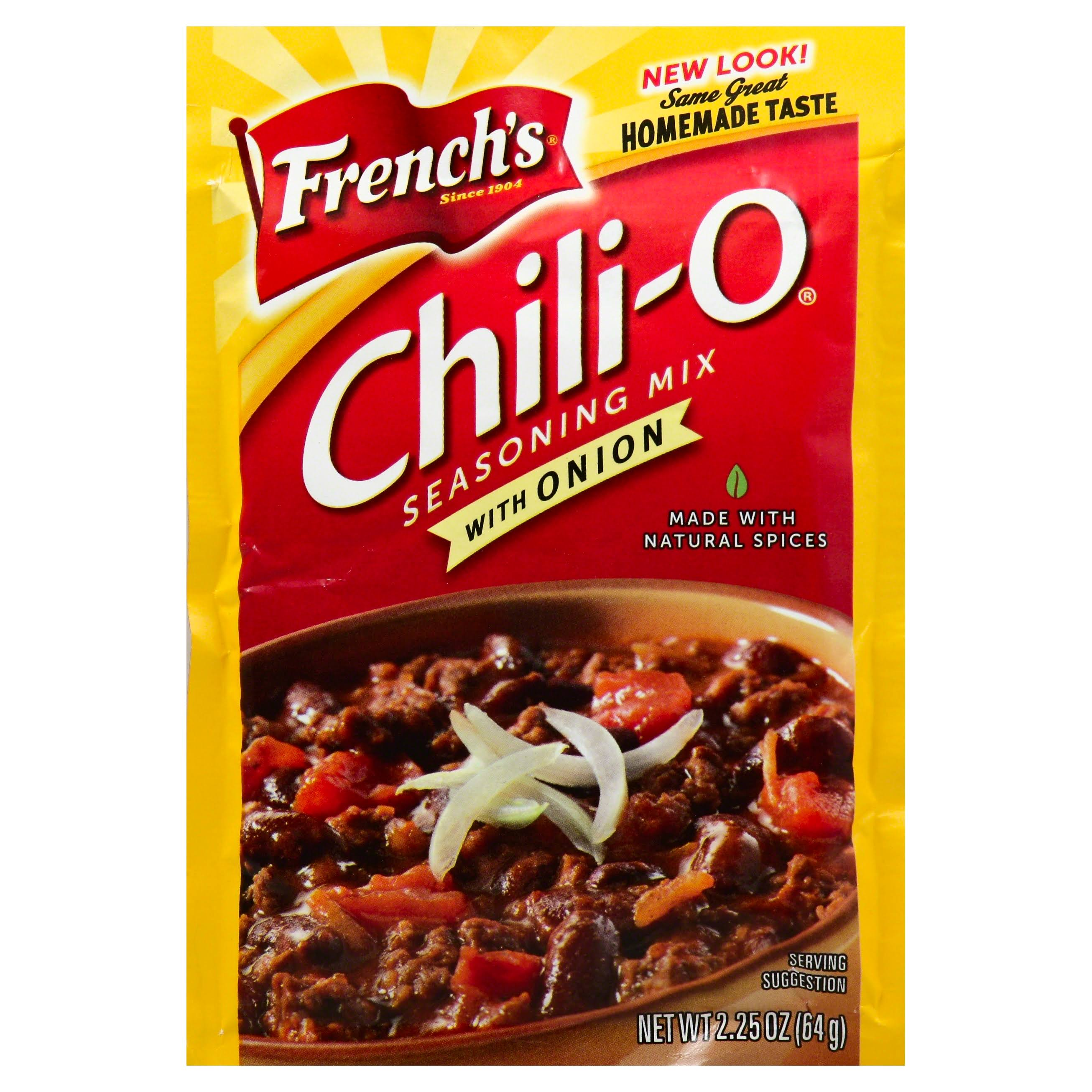 French's Chili-O with Onion Seasoning Mix - 2.25oz